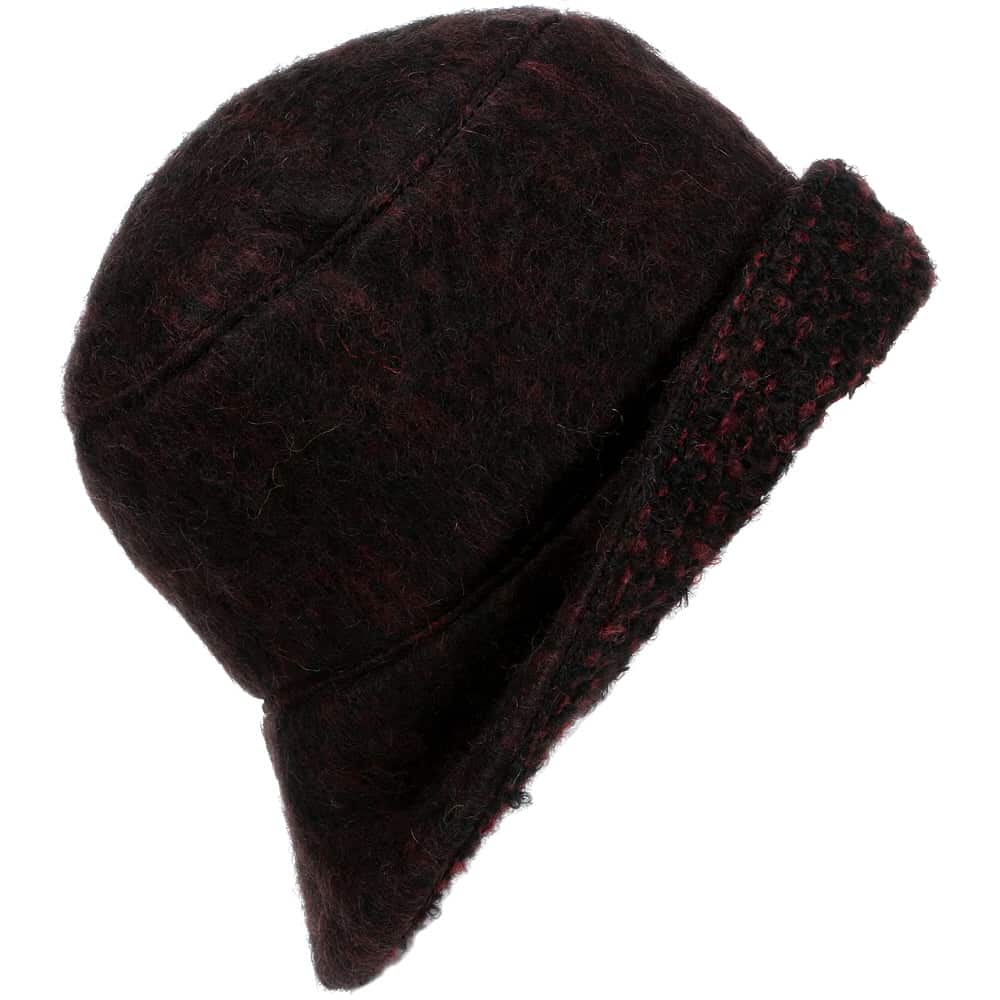a5bee94319483 Lined Mohair trilby Hat
